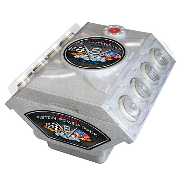 """Piston Power Pack"" Cooler"