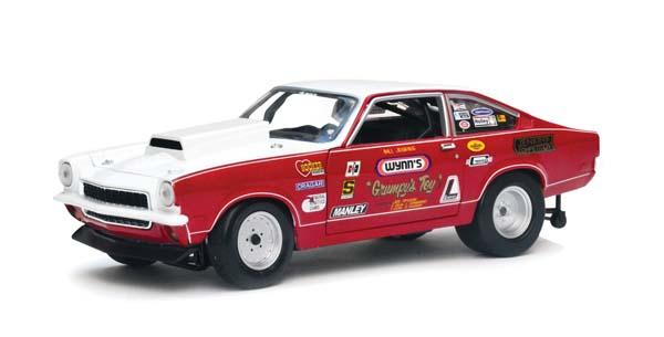 """A little Grumpy Auto World 1972 Chevrolet Vega """"Grumpys Toy IX"""""""