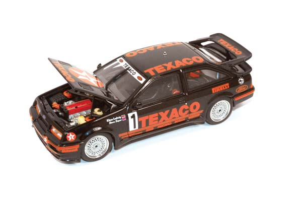 Showroom, AutoArt 1:43 1987 Ford Sierra Cosworth Texaco