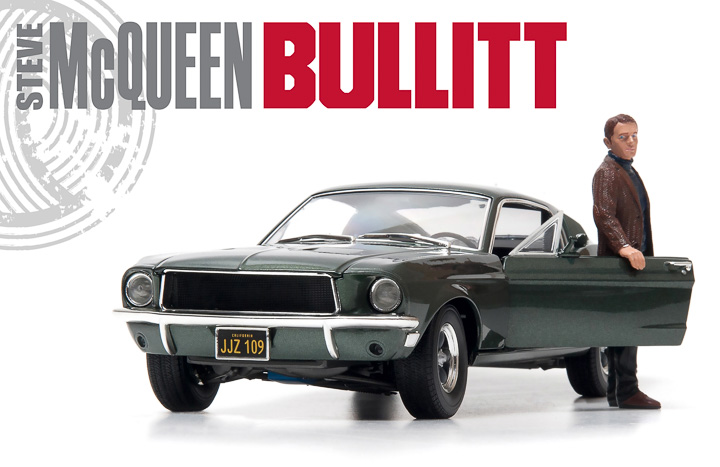 Number one with a Bullitt!
