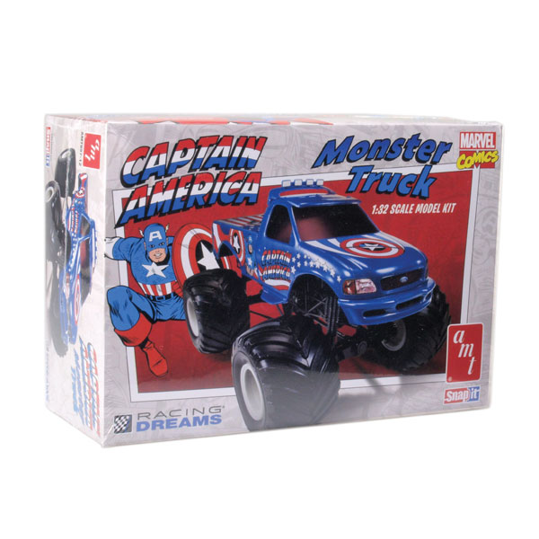 "AMT ""Captain America"" Monster Truck Kit"