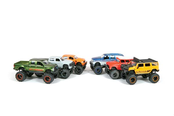 Mean Mudders Jada Toys Big Time 4Wheelin Wave 4