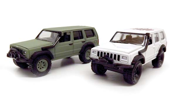 Johnny Lightning Jeep Cherokee 1cc