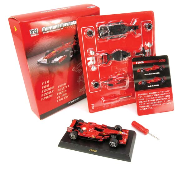 Building Passion Kyosho Ferrari Formula Car Kits