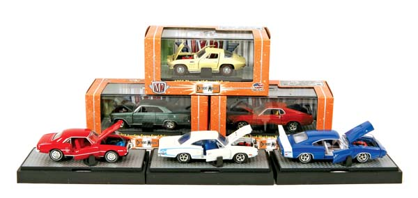 Showroom, M2 Machines 1:64 Detroit Cruisers Release 2