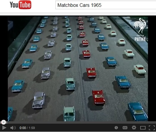 Matchbox Vintage Video