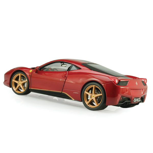 "Mattel Hot Wheels Elite Ferrari 458 Italia ""China Special"""