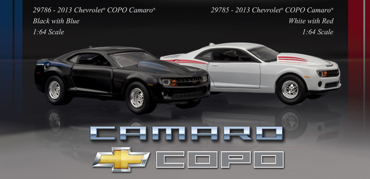 Chevy's COPO Mojo is back, and GreenLight has it in 1:64!