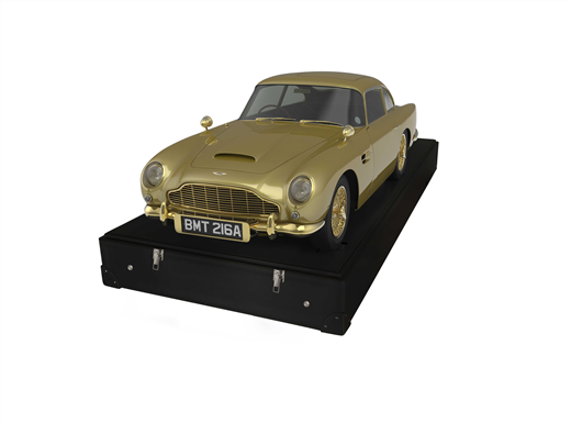 1/3-Scale James Bond Aston DB5 – Gold-plated Goldfinger Star