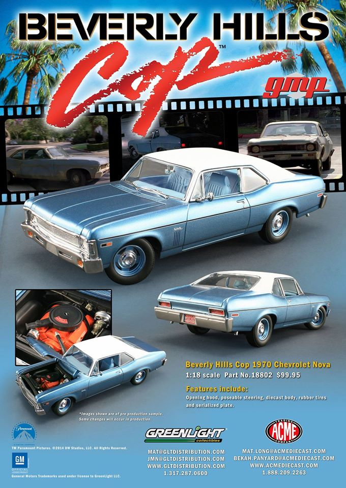 Axel Foley's Chevy Nova from ACME