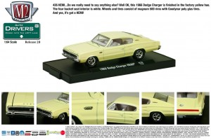 Drivers Release 28 - 1966 Dodge Charger HEMI - Yellow - Final Image