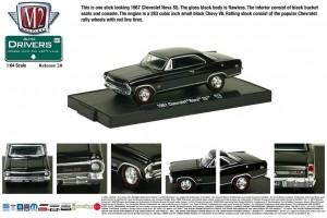 Drivers Release 28 - 1967 Chevrolet Nova SS - Black - Final Image