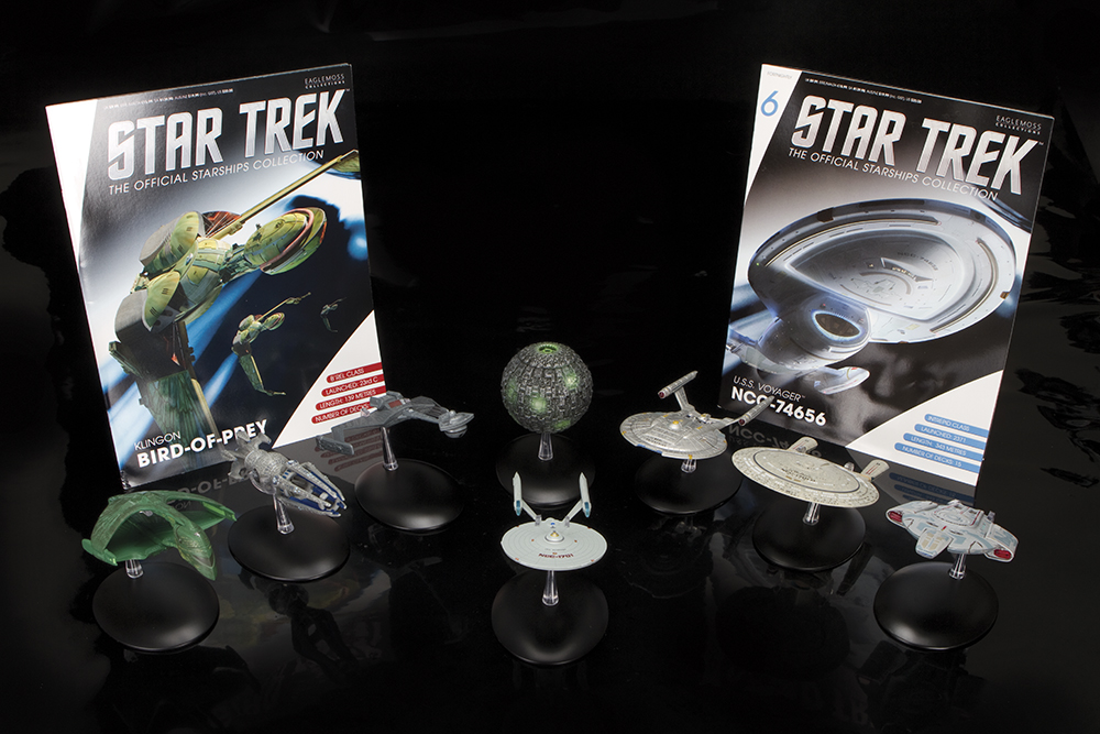 Eaglemoss Star Trek Starships: Where No Diecast Has Gone Before