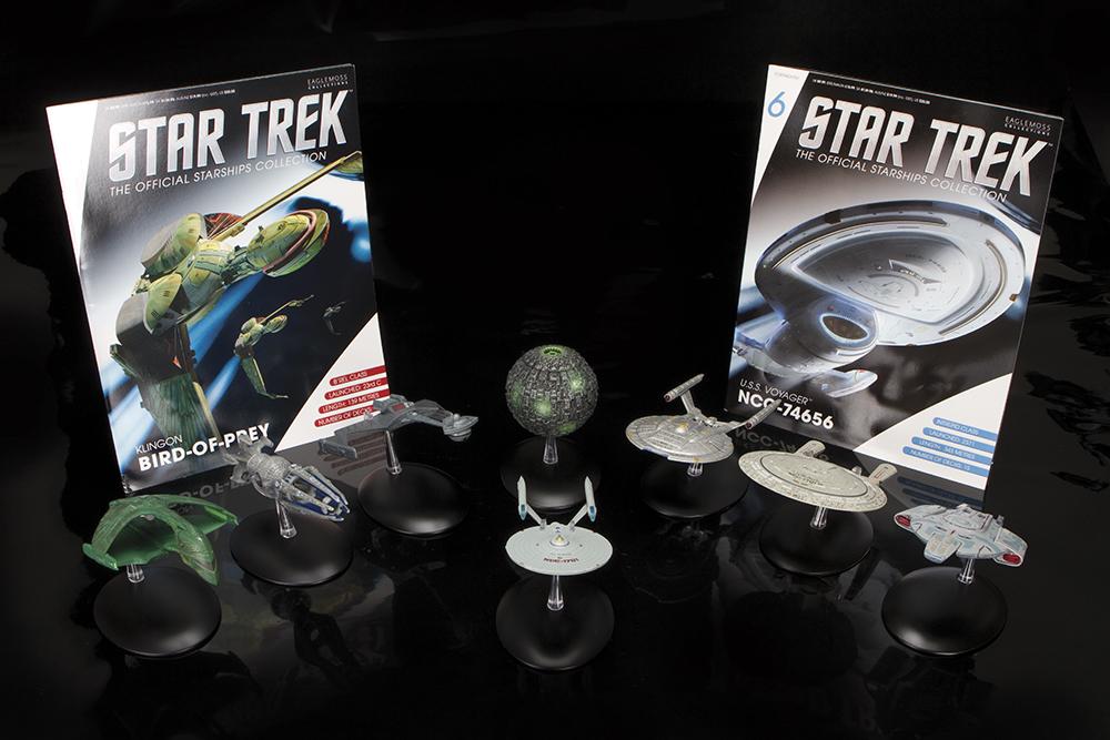 Eaglemoss Star Trek Starships: Where No Diecast Has Gone Before