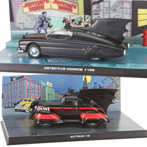 Wheels of Justice: 75 Years of Batman in Scale