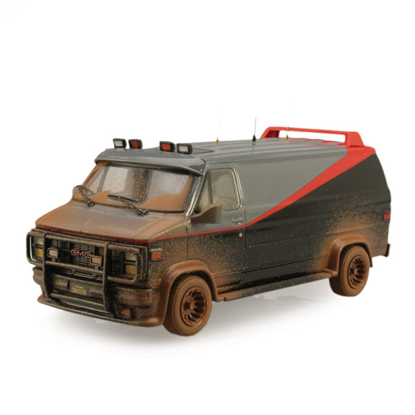 """Hot Wheels Elite """"Dirty"""" A-Team Van"""