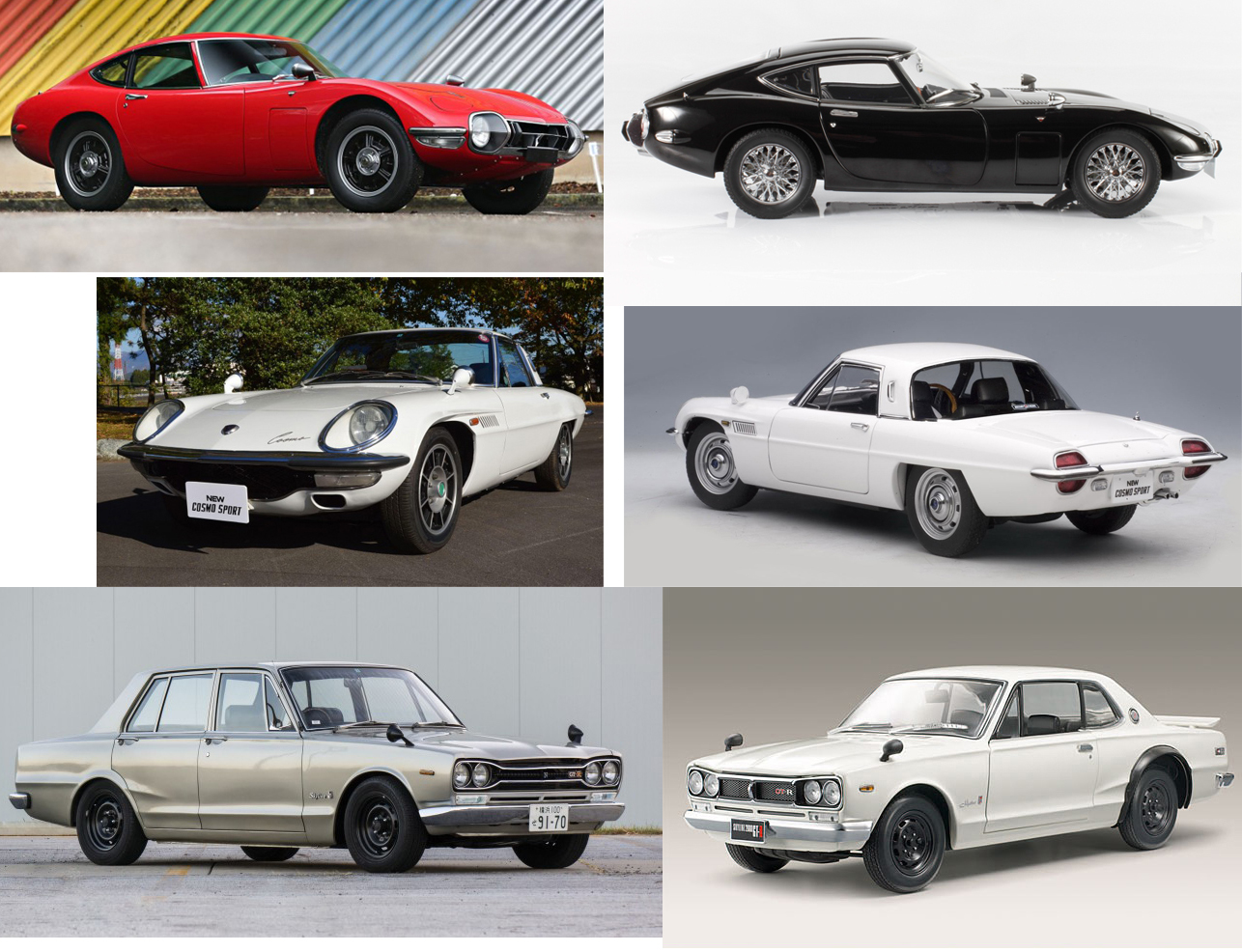 Japanese Classics: In Scale and at Auction