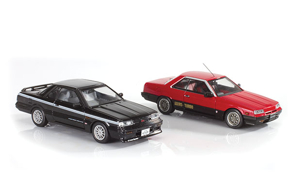 Kyosho Mazda RX-7 and Nissan Skyline Turbos
