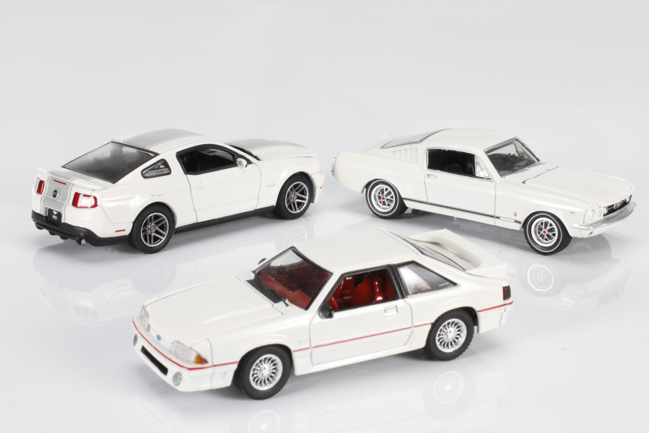 Dodge and Mustang Anniversary Specials from GreenLight, 1:64  — Online Exclusive