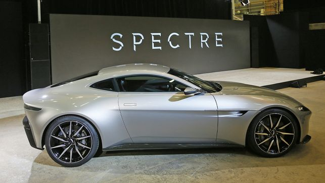 Bond 24 features the Aston Martin DB10! 24+10 = Awesome!