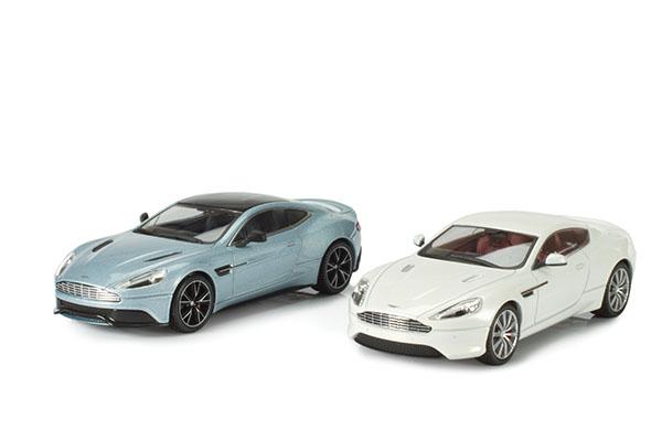Kyosho Aston Martin DB9 and Vanquish