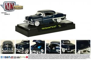 Auto-Thentics Release 31 - 1954 Chevrolet Bel Air - Biscayne Blue Metallic body - Final Image