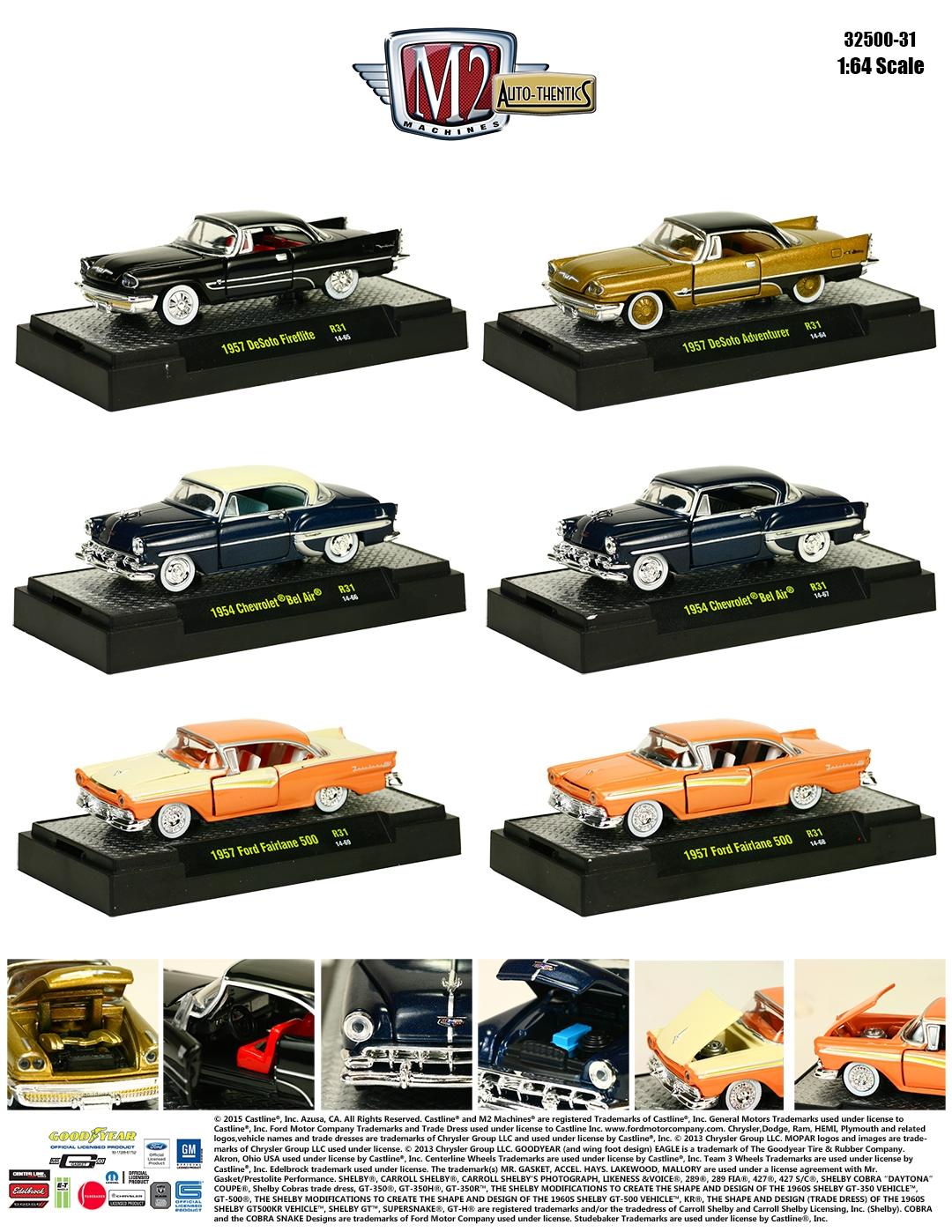 1:64 American Classics Sneak Peek: M2 Auto-Thentics Series 31