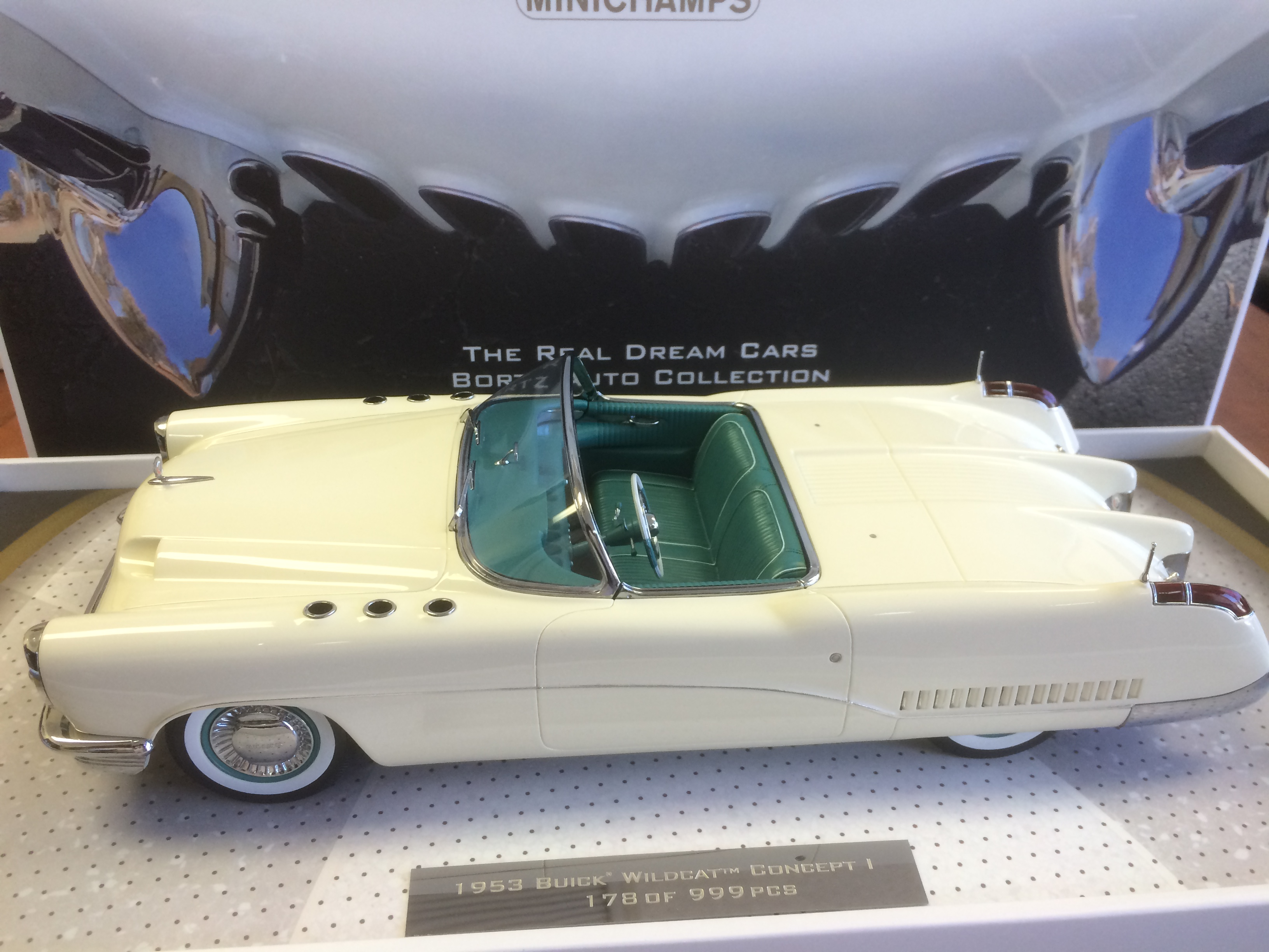1953 Buick Wildcat I Concept – Next Release from Minichamps Bortz Collection
