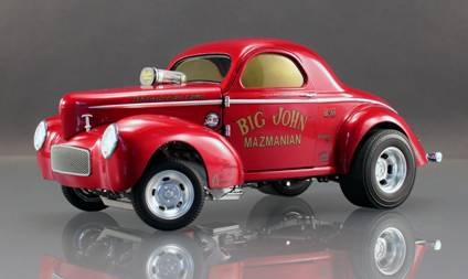 Big John Mazmanian's '41 Willys Gasser from ACME