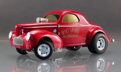 Big John Mazmanian's '41 Willys Gasser from ACME