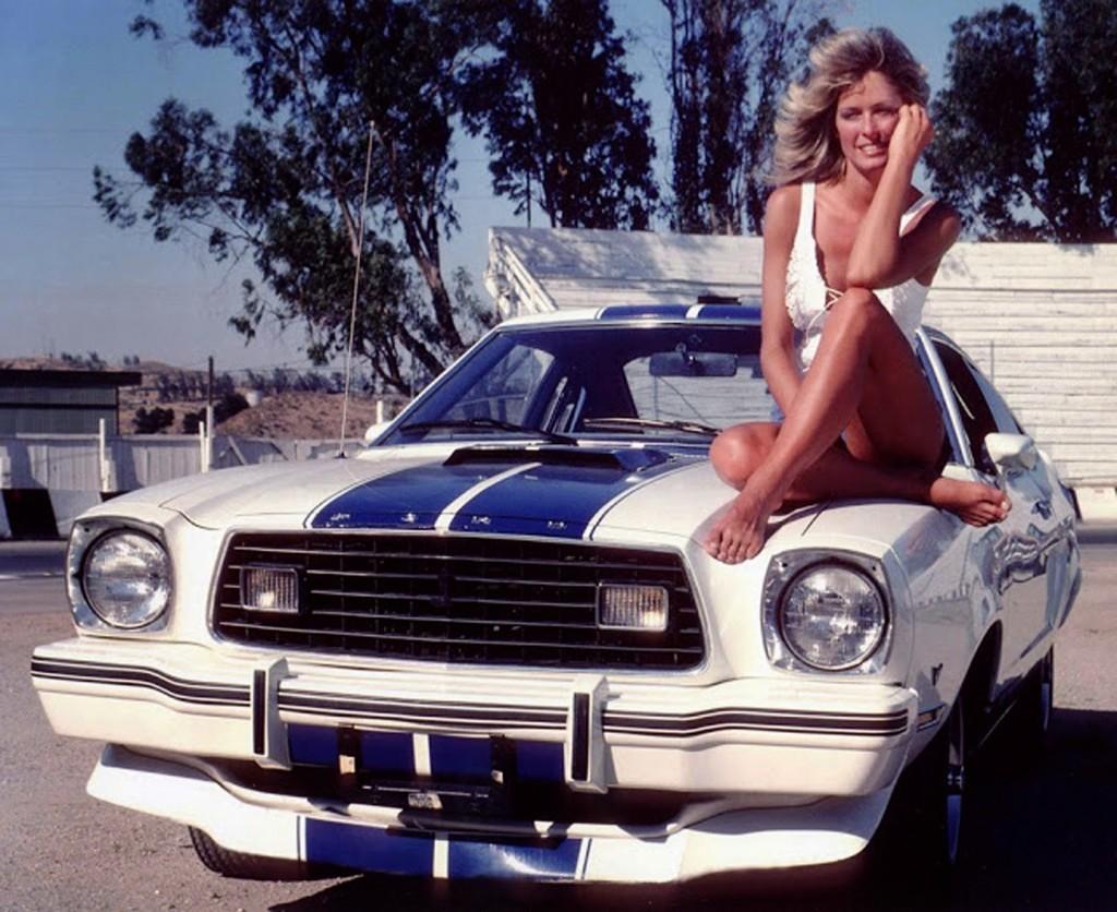 Mustang, Farrah, Fawcett, Charlie's, Angels, GreenLight, Cobra II, diecast, replica, 1:18