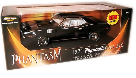 Cuda, Phantasm, Ertl, Movie, Horror, Cult, Tall Man, diecast, replica, 1:18