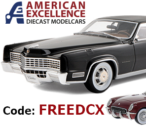 American Excellence is giving Free Shipping to Die Cast X Readers!