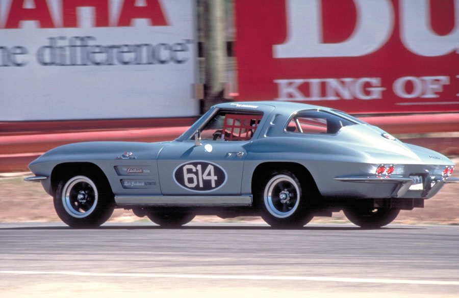 1963 Chevrolet Corvette Z06 in Race Trim