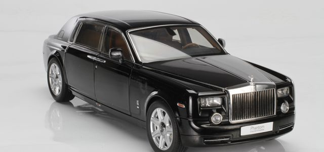 ONLINE EXCLUSIVE Review: 1:18 Kyosho Rolls-Royce Phantom EWB