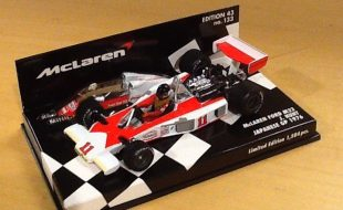 Model of the Day: Minichamps 1976 Japanese GP James Hunt McLaren M23