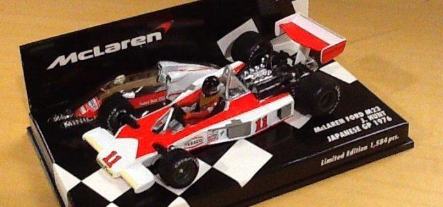 Model of the Day: Minichamps 1976 Japanese GP James Hunt McLaren M23
