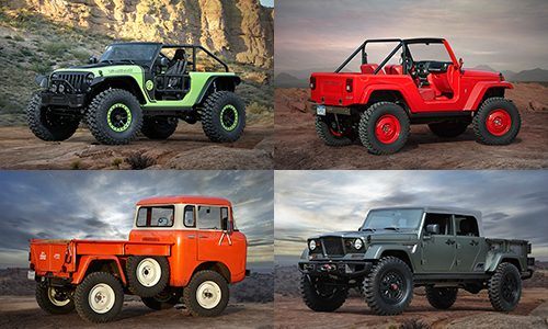 Choose Your Own Adventure: 7 Great New Jeep Concepts