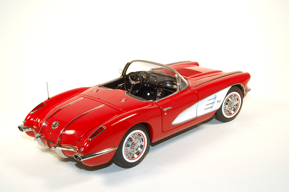 AUTOart, 1:18, 1958, Corvette, Chevrolet, Little Red Corvette, diecast, Die Cast,