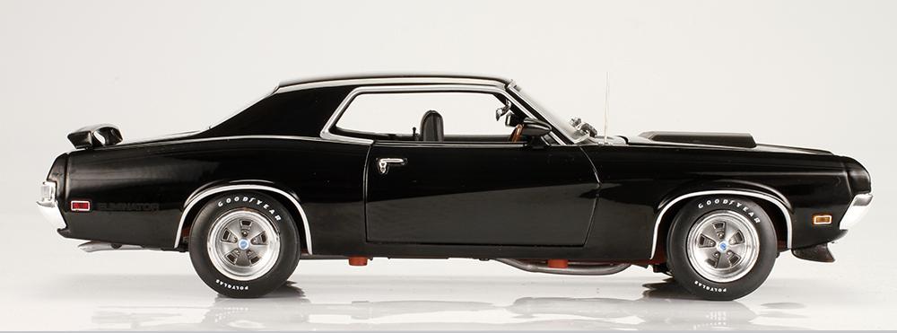 Auto World, Ertl, American Muscle, 1970 Mercury, Cougar, Eliminator, Boss 302, muscle car