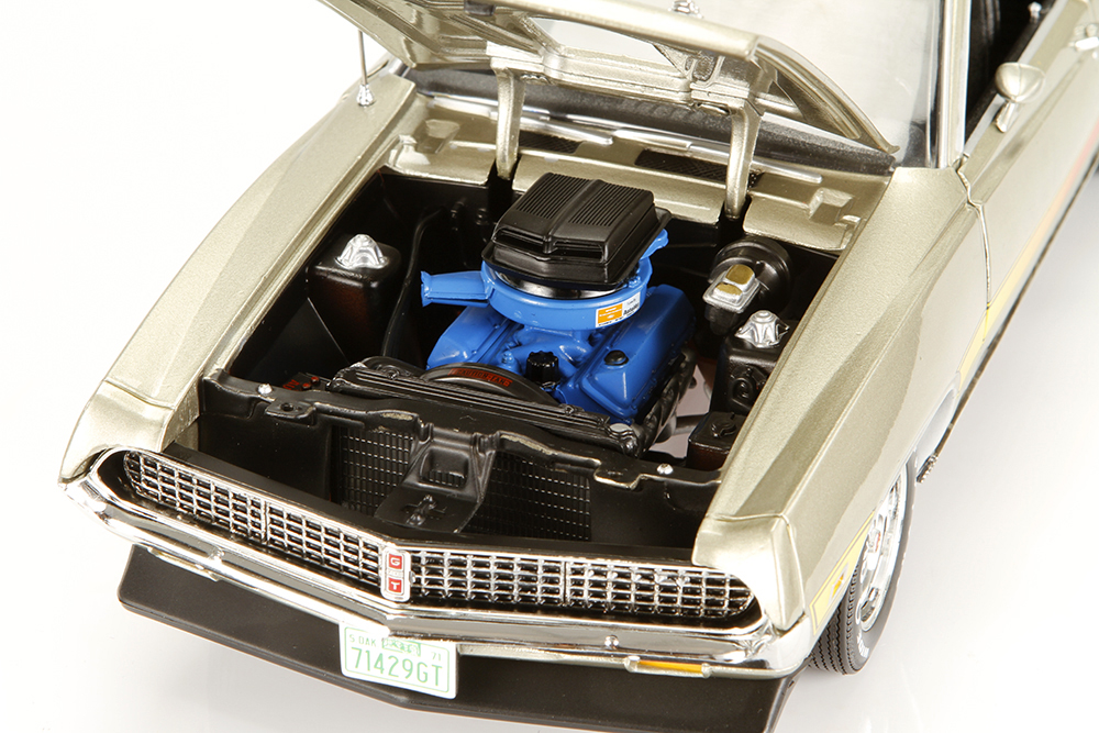 Auto World, Ertl, American Muscle, muscle car, 1971 Ford Torino, 429 Cobra Jet, 429CJ