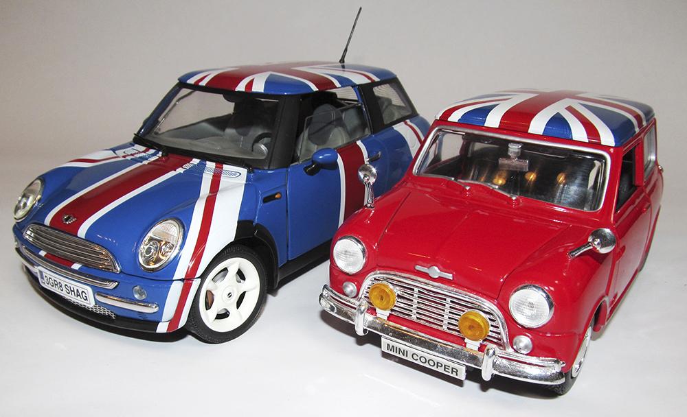 Mini Cooper, Joy Ride, Testors, Austin Powers, British Leyland