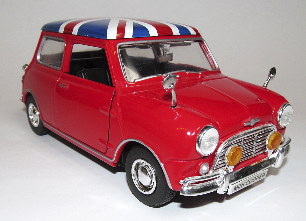 Mini Cooper, Joy Ride, Testors, Austin Powers, British Leyland