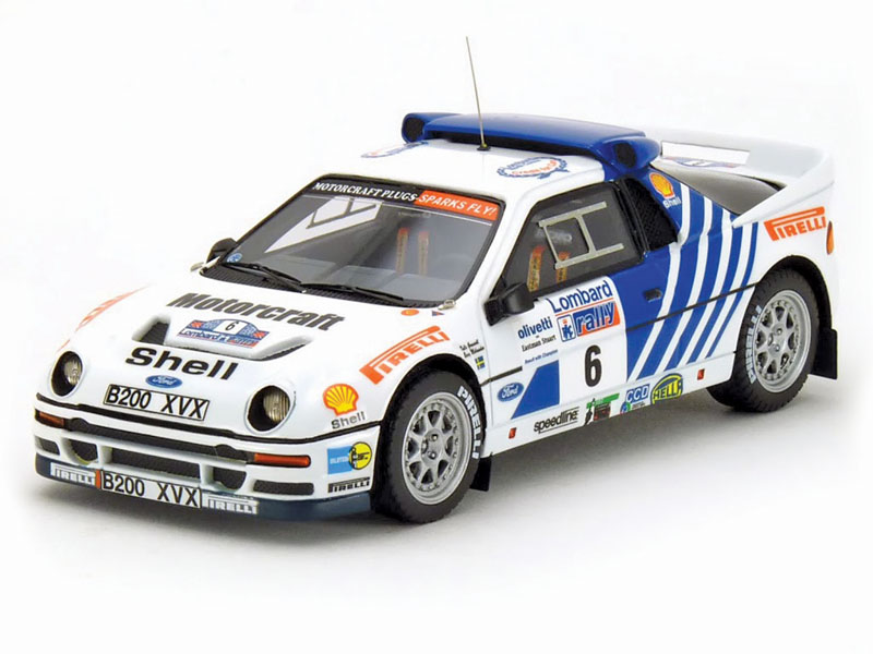A few manufacturers make Ford RS200s, but Minichamps' is among the nicest in 1:43.