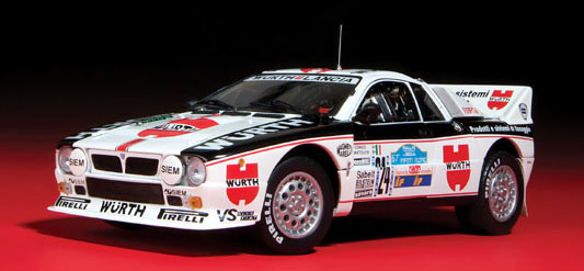 Kyosho released several versions of the Lancia 037 in 1:18 a few years ago.