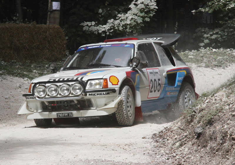Peugeot introduced the 205 Turbo 16 midway through the '84 season and became the team to beat virtually overnight. Audi had scored enough points earlier in the season to take the title, but the 205 T16 swept the final three points races of the season and would be dominant in 1985.