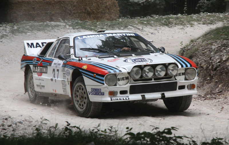 The last 2WD car to win a WRC championship was the Lancia 037 in 1983.