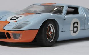 GT40 Diecast Barn-Find