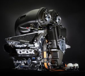 F1 Mercedes Turbo V6-1