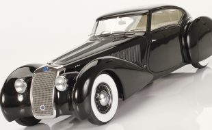 Automodello 1937 Delage D8-120 S Aerodynamic Coupe by Pourtout